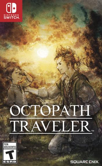 Octopath Traveler Switch coverM2 (AGY7B)