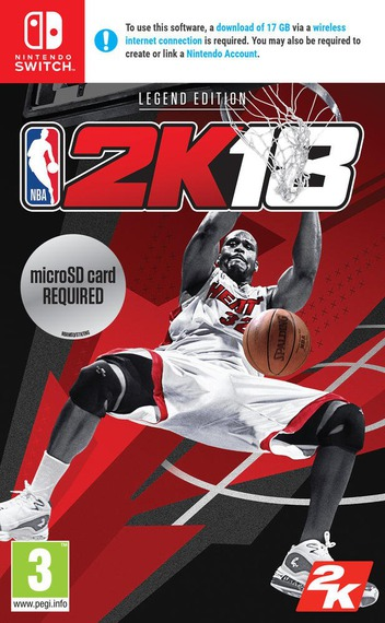 NBA 2K18 Switch coverMB (AB38A)