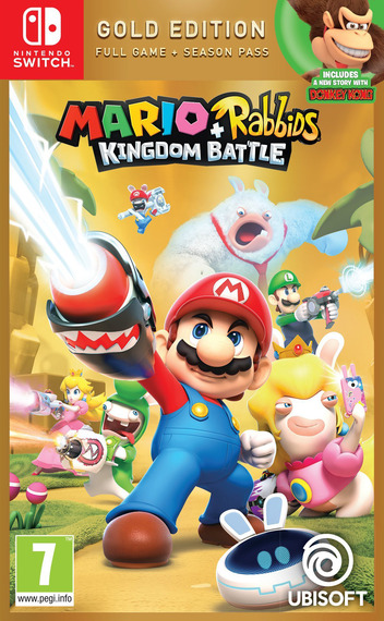 Mario + Rabbids: Kingdom Battle Switch coverMB (BAANA)