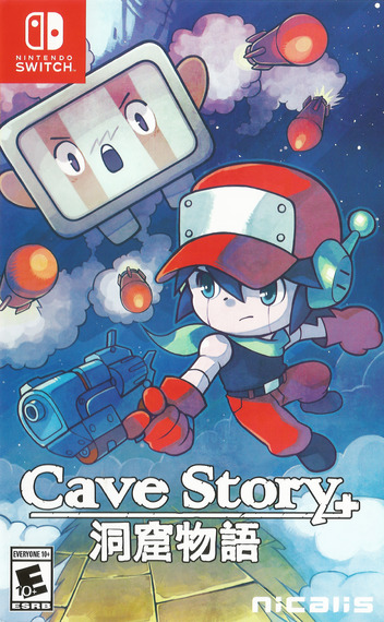 Cave Story+ Switch coverMB (AB92A)