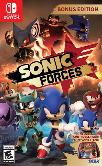 Sonic Forces Switch coverMB (ABQLA)