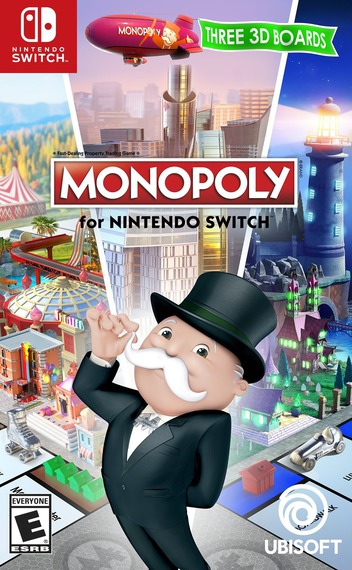 Monopoly for Nintendo Switch Switch coverMB (ADQPA)