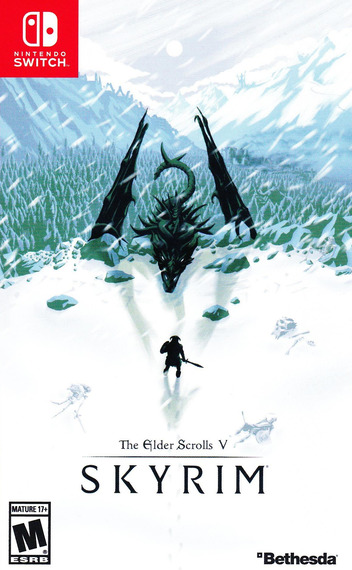 The Elder Scrolls V: Skyrim Switch coverMB (AF3CA)