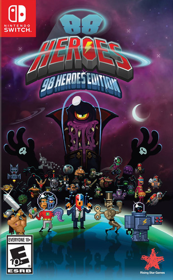 88 Heroes: 98 Heroes Edition Switch coverMB (AFLJA)