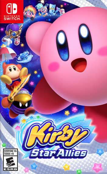Kirby Star Allies Switch coverMB (AH26A)