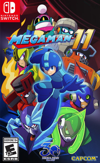 Mega Man 11 Switch coverMB (ALGCA)