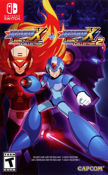 Mega Man X Legacy Collection Switch coverMB (ALGGA)