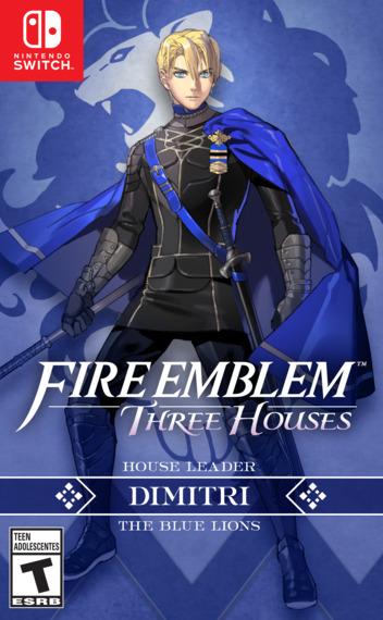 Fire Emblem: Three Houses Switch coverMB (ANVYA)