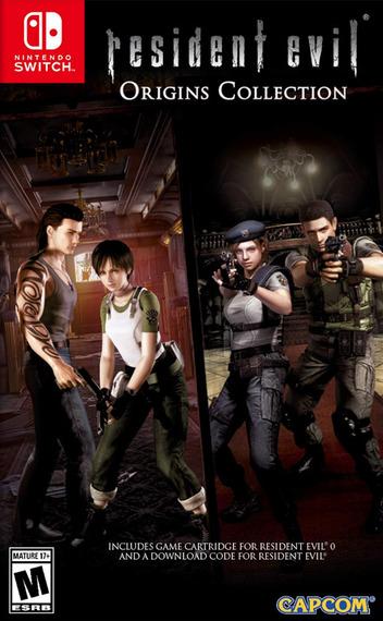 Resident Evil 0 Switch coverMB (AQ76B)