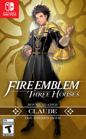 Fire Emblem: Three Houses Switch coverMB2 (ANVYA)