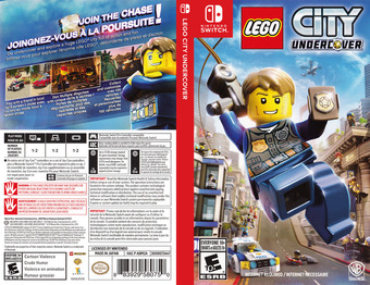LEGO City Undercover Switch cover (ABM2A)