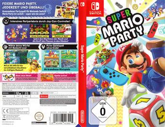 Super Mario Party Switch cover (ADFJA)