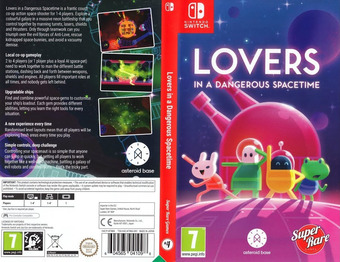 Lovers in a Dangerous Spacetime Switch cover (AF3MA)