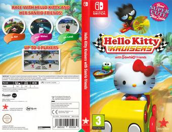 Hello Kitty Kruisers Switch cover (AK9ZA)