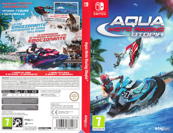 Aqua Moto Racing Utopia Switch cover (AFVVA)