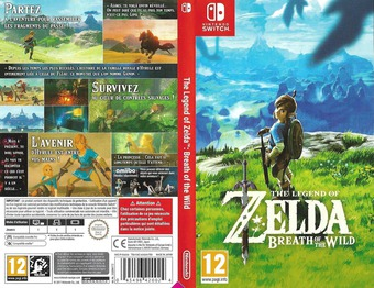 The Legend of Zelda: Breath of the Wild pochette Switch (AAAAA)