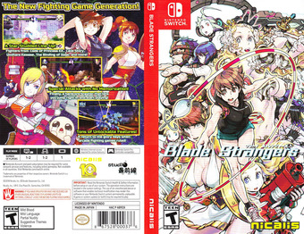 Blade Strangers Switch cover (AB9ZA)