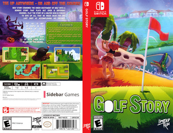 Golf Story Switch cover (AECZC)