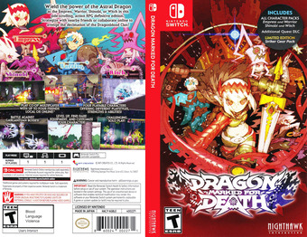 Dragon Marked for Death Switch cover (AGBLE)