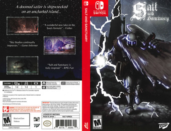 Salt and Sanctuary Switch cover (AMHZA)