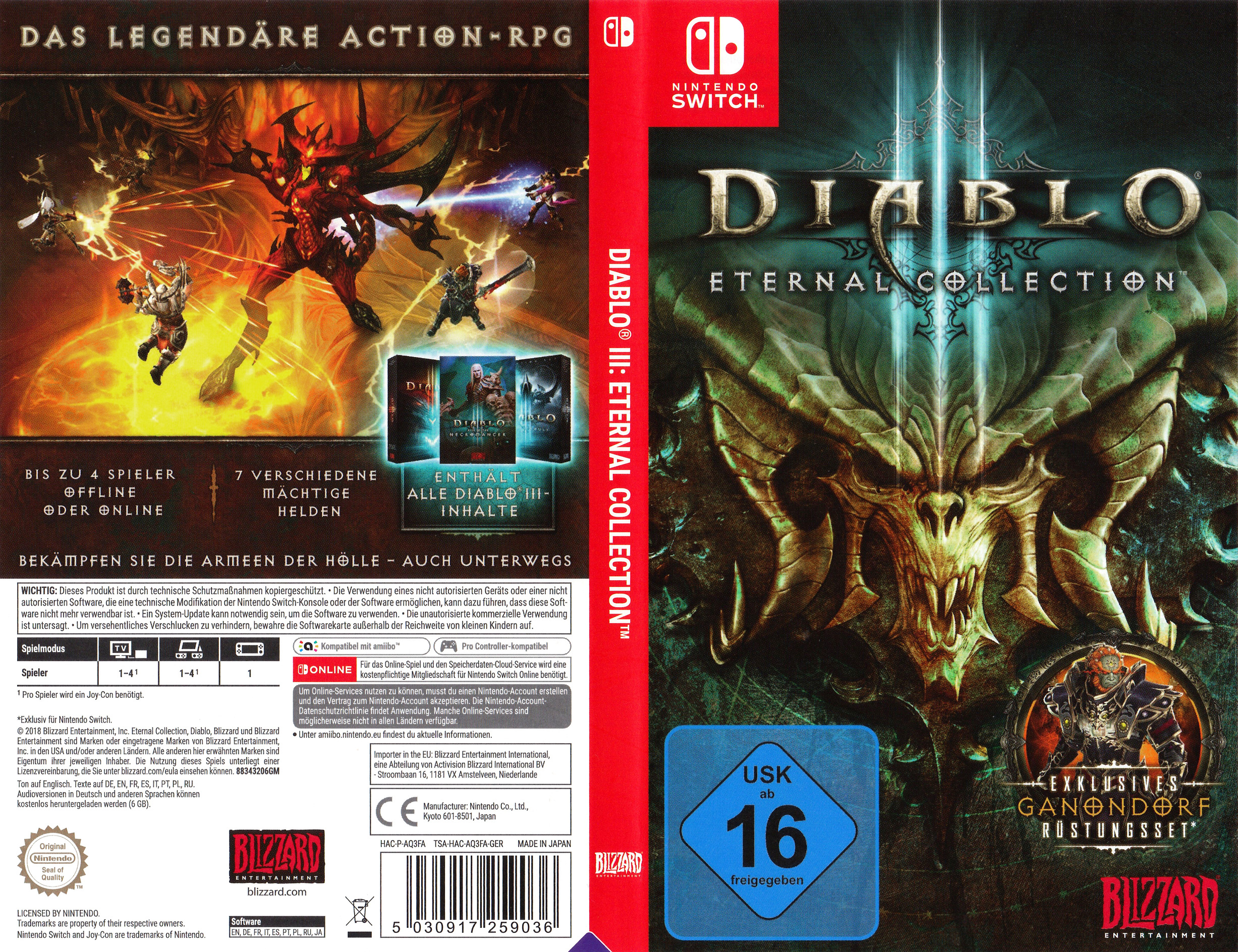 Diablo III - Eternal Collection Switch coverfullHQ (AQ3FA)
