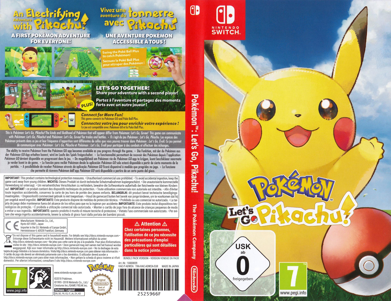 Pokémon:Let's Go, Pikachu Switch coverfullHQ (ADW2A)