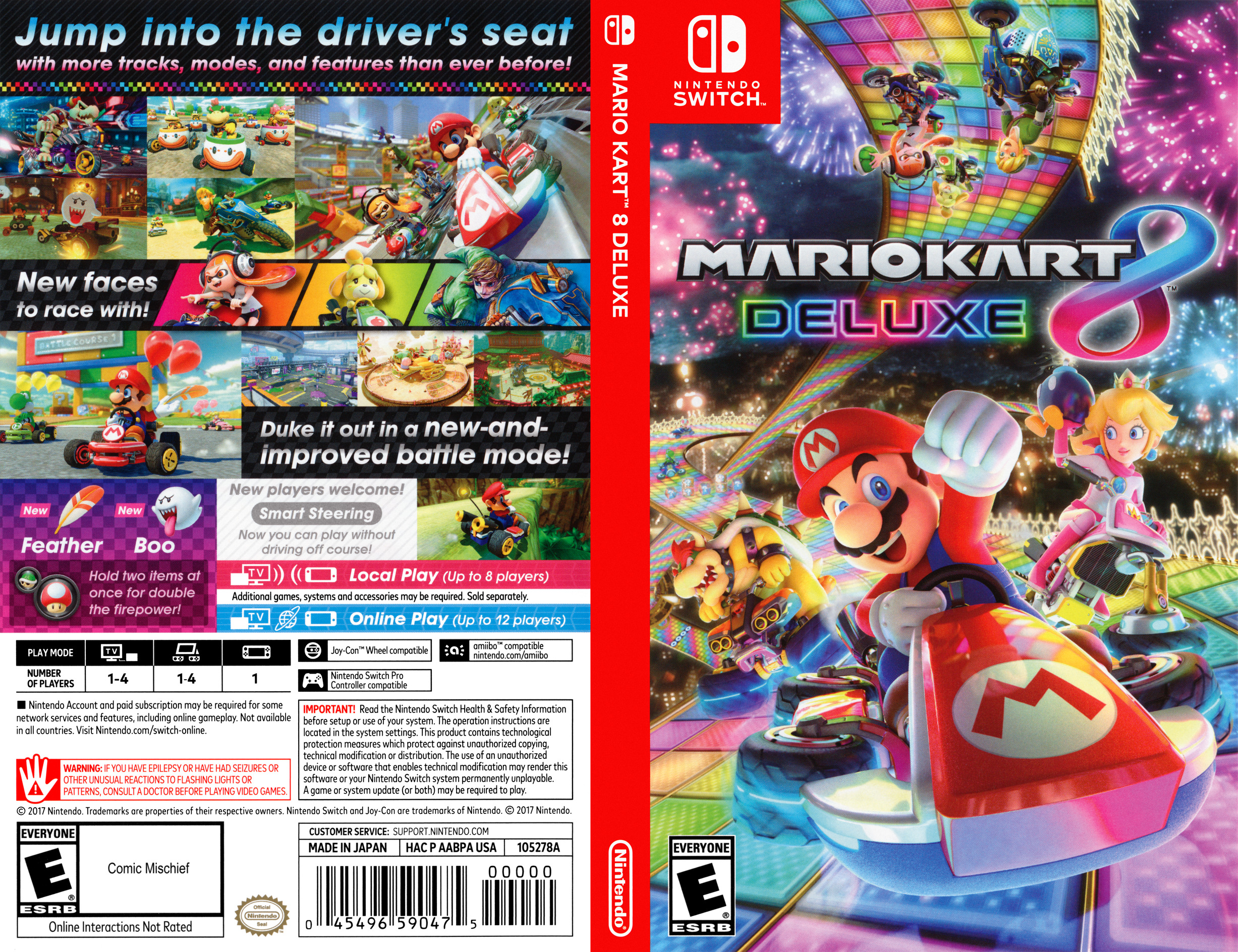 Mario Kart 8 Deluxe Switch coverfullHQ (AABPA)