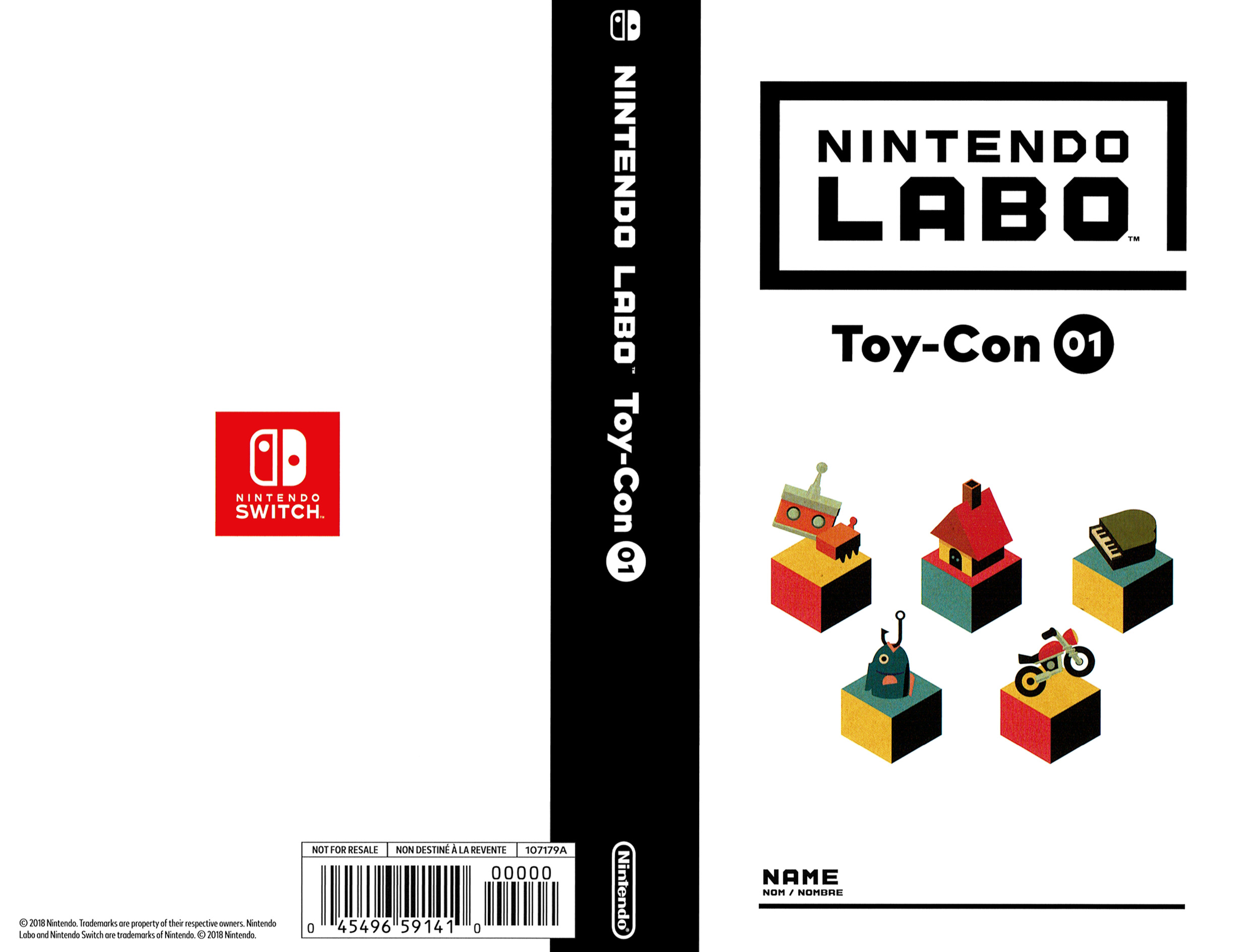 Nintendo Labo - Toy-Con 01: Variety Kit Switch coverfullHQ (ADFUA)