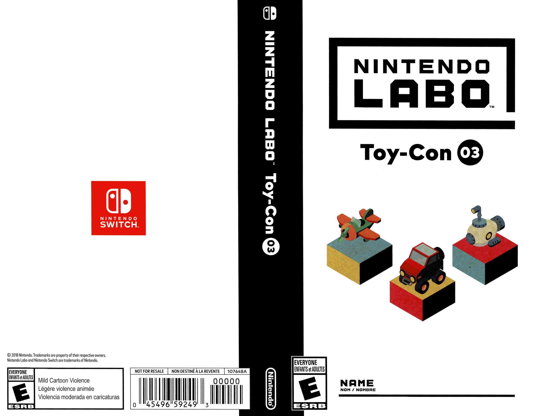 Nintendo Labo - Toy-Con 03: Vehicle Kit Switch coverfullHQ (ADFWA)