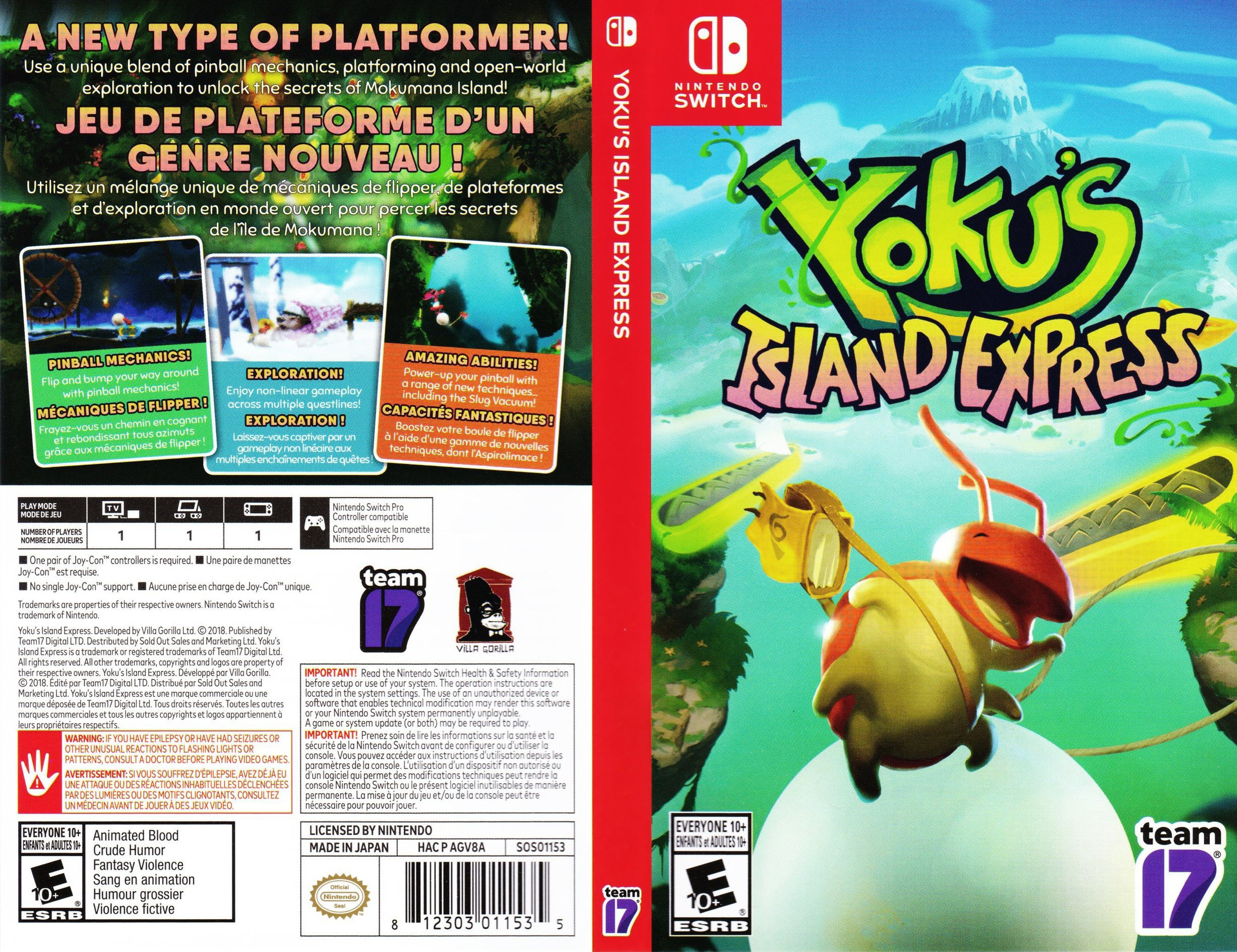 Yoku's Island Express Switch coverfullHQ (AGV8A)