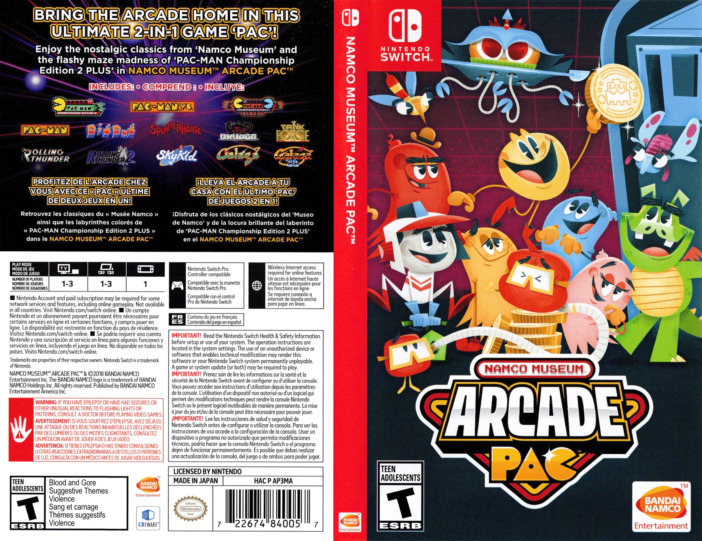 Namco Museum Arcade Pac Switch coverfullHQ (AP3MA)