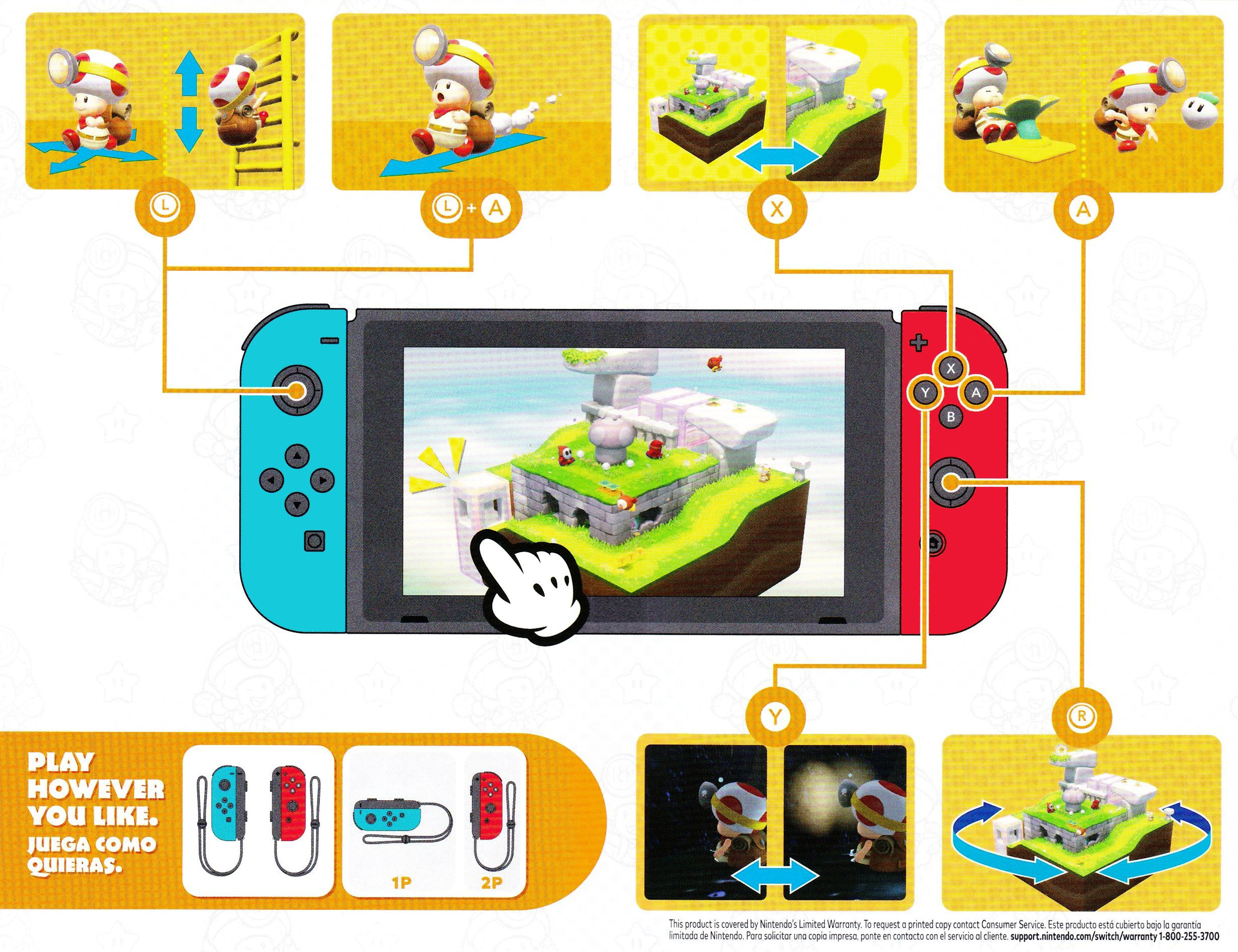 Captain Toad: Treasure Tracker Switch coverfullHQ2 (AJH9A)