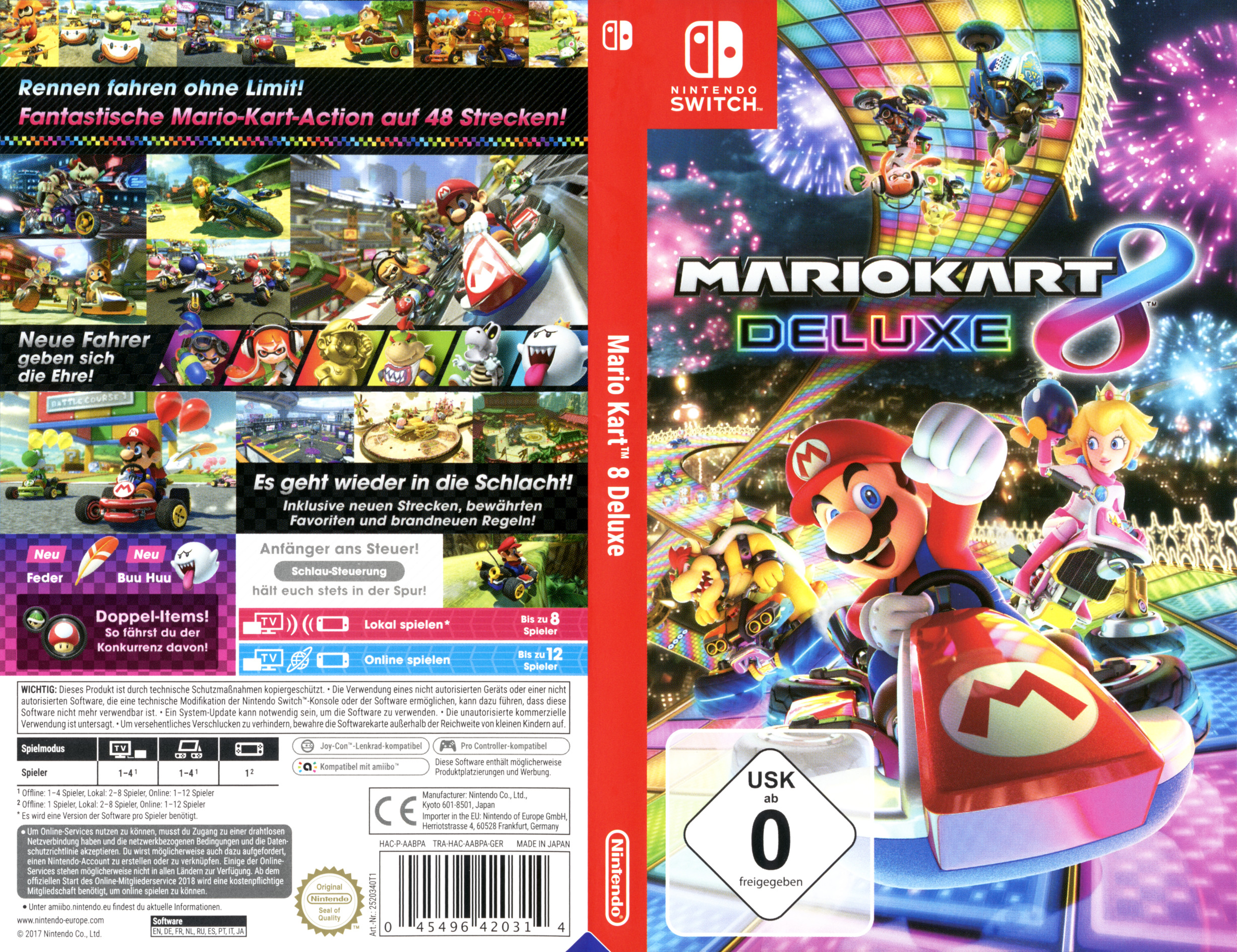 Mario Kart 8 Deluxe Switch coverfullHQB (AABPA)