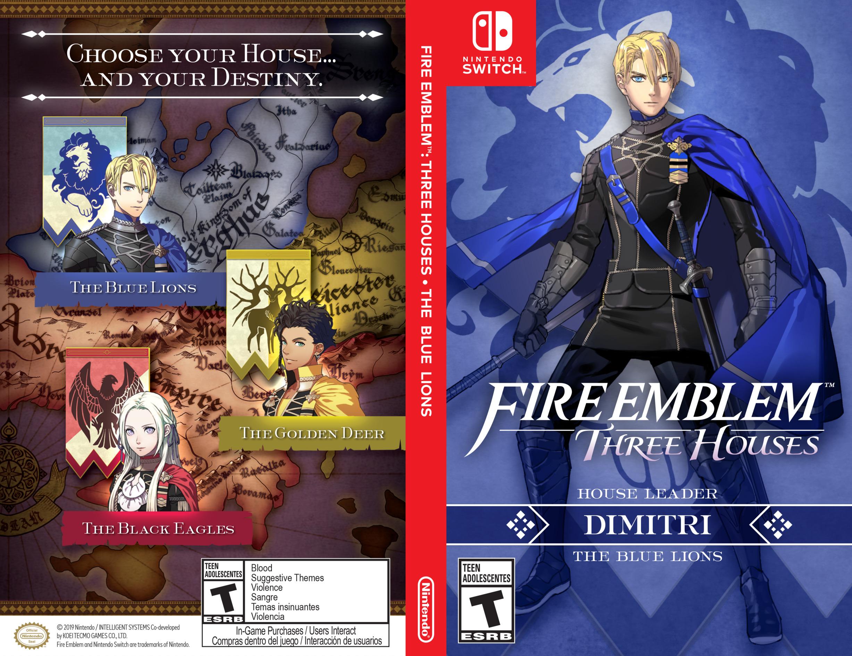 Fire Emblem: Three Houses Switch coverfullHQB (ANVYA)