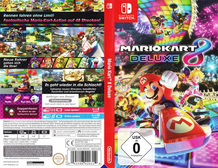 Mario Kart 8 Deluxe Switch coverfullM (AABPA)