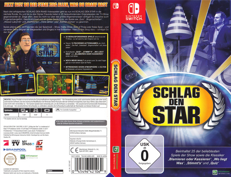 Schlag den Star - Das Spiel Switch coverfullM (AD82A)