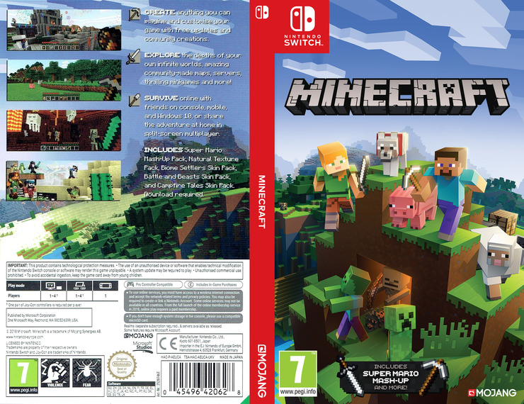 Minecraft Switch coverfullM (AEUCA)