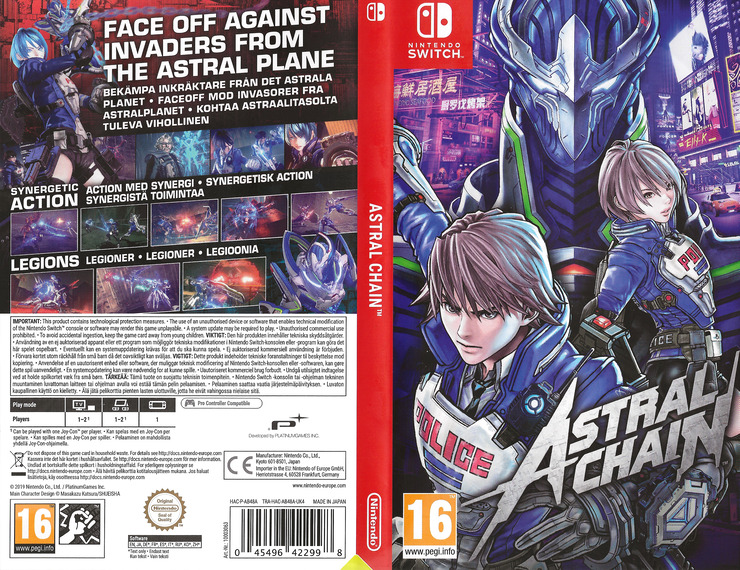 Switch coverfullM (AB48A)