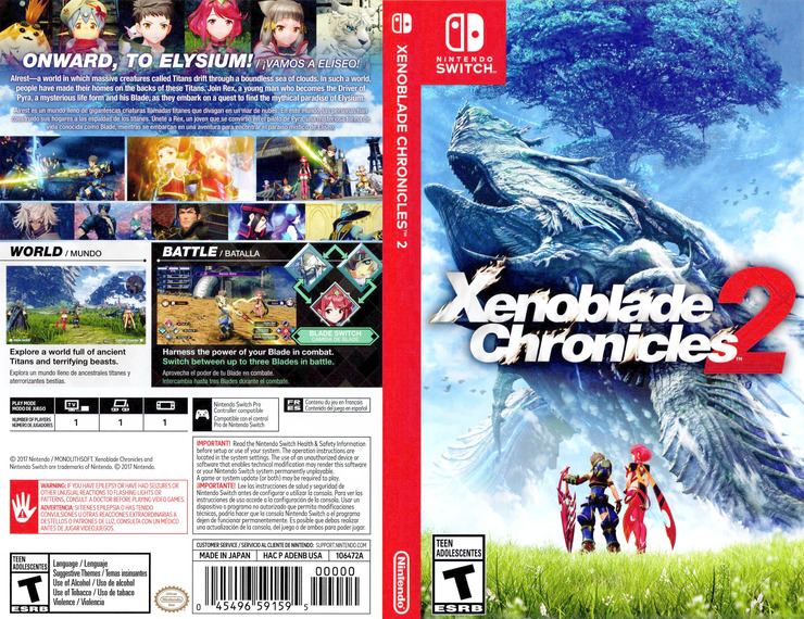 Xenoblade Chronicles 2 Switch coverfullM (ADENB)