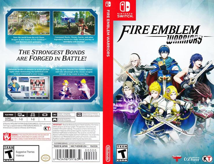 Fire Emblem Warriors Switch coverfullM (ADXHB)