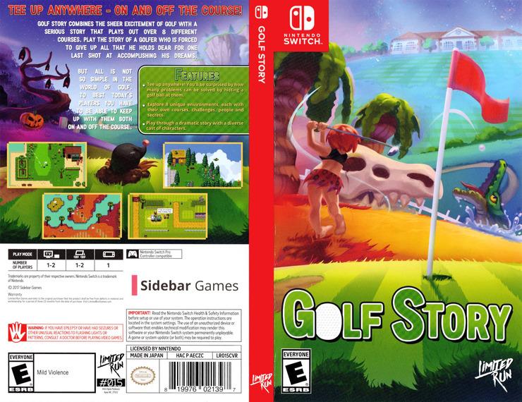 Golf Story Switch coverfullM (AECZC)