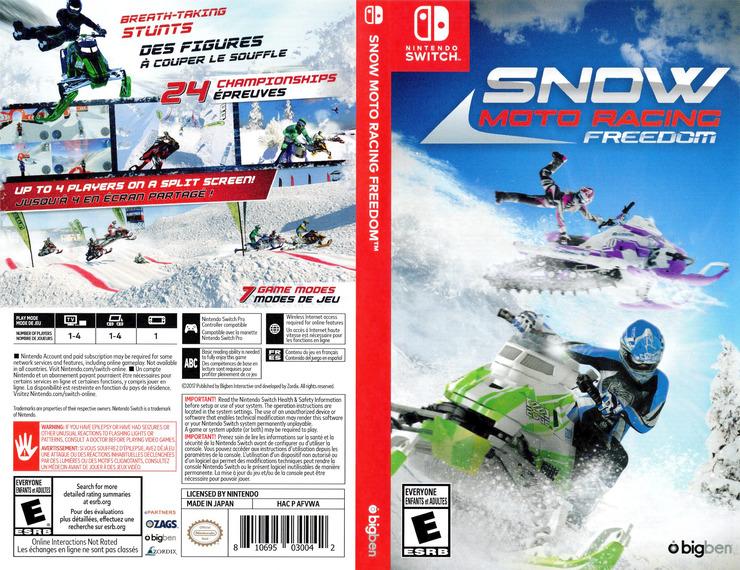 Snow Moto Racing Freedom Switch coverfullM (AFVWA)