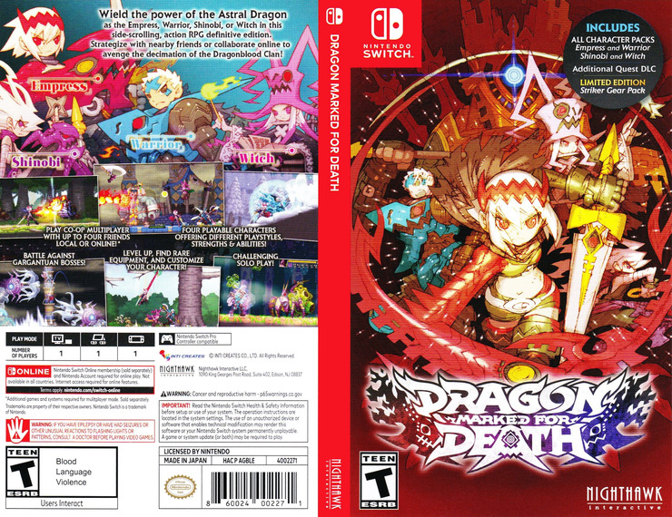 Dragon Marked for Death Switch coverfullM (AGBLE)