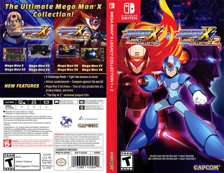 Mega Man X Legacy Collection Switch coverfullM (ALGGA)