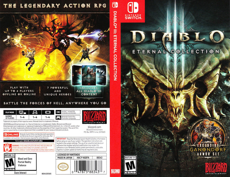 Diablo III - Eternal Collection Switch coverfullM (AQ3FA)