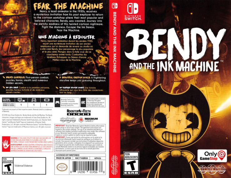 Bendy and the Ink Machine Switch coverfullM (AQ8UA)
