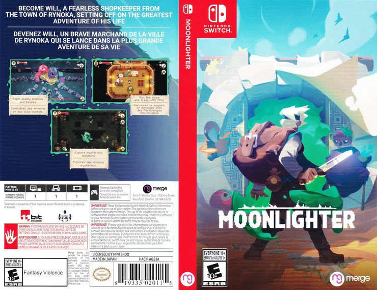 Moonlighter Switch coverfullM (AQE3A)