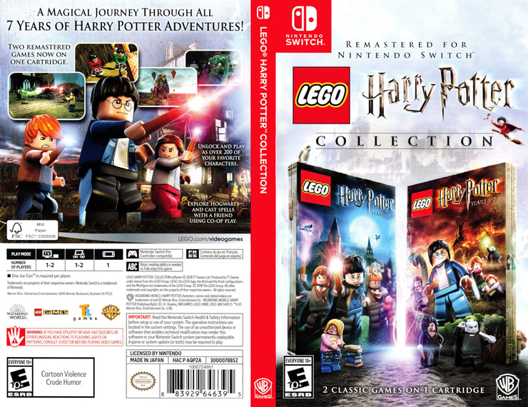 LEGO Harry Potter Collection Switch coverfullM (AQPZA)