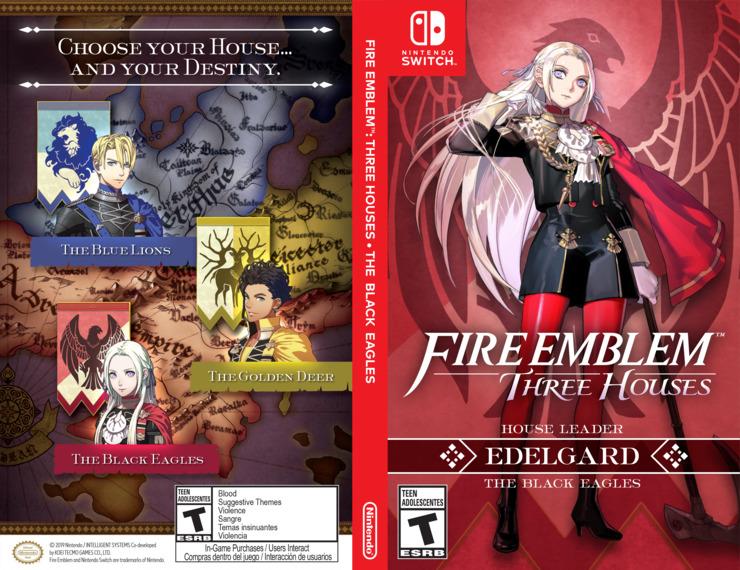 Fire Emblem: Three Houses Switch coverfullM2 (ANVYA)