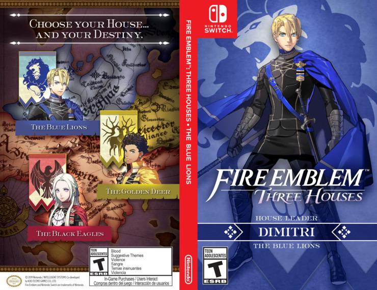 Fire Emblem: Three Houses Switch coverfullMB (ANVYA)